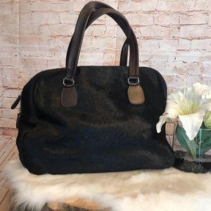ZA cowhide cow hair purse made in Spain